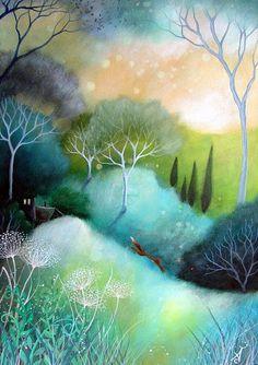 "Il mondo di Mary Antony: I dipinti ""fantasy tale"" di Amanda - (Clark Earth Angels Art)"