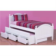 Www.livingstyles.com.au Kelly Single Captains Bed With Storage and Single Trundle