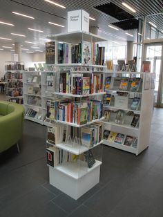 Display units, Halifax Central Library (NS)