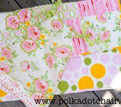 Tutorial: Fat Quarter Baby Dress & Easy Baby Quilt -