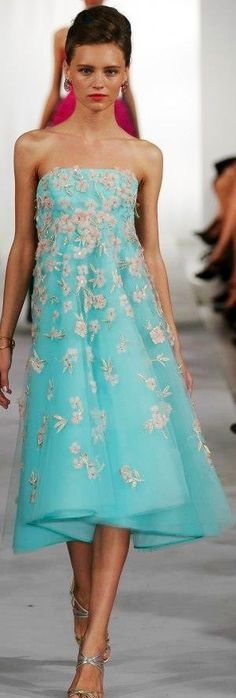 Oscar de la Renta - 2013.                               For bridesmaids, love it