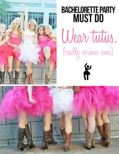 These tutus are so serious. They were made by the Bride's mom. Stay tuned for the DIY tutorial on the Little Miss Mrs blog.
