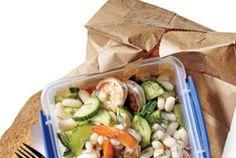 Lemony Shrimp and White Bean Salad