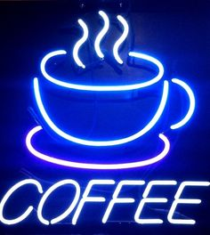 Coffee Time Cafe Neon Sign Glass Tube Neon Light For Sale – Hanto neon sign Coffee Talk, I Love Coffee, My Coffee, Coffee Shop, Coffee Cups, Coffee Break, Night Coffee, Beer Signs, Coffee Signs