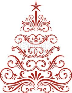 Christmas Tree Royalty Free Stock Vector Art Illustration