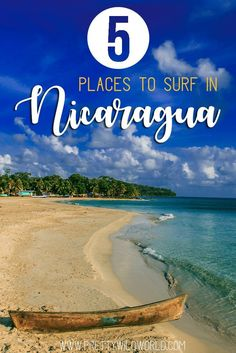 Places to visit in Nicaragua | Things to do in Nicaragua | Surfing spot in Nicaragua | Nicaragua travel things to do | Nicaragua travel tips | Surfing Centra America