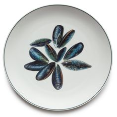 Jersey Pottery - Large Round Platter - Mussel
