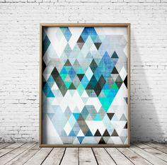 Digital Art Prints Wall Art Prints Posters by CosmicPrint on Etsy