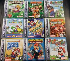 Divers Jeux GBA