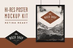 TMS Pro: Poster Mockup Kit by The Mock Shop on @creativemarket