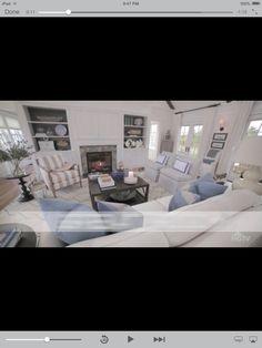 Living room idea HGTV dream home