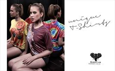 Elephunk: Girl     Elephunk. Unique T-shirts.  Advertising Agency: MCP, Assis, Brazil