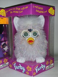 Original Vintage 1998 FURBY Lot 90's Toys Limited Edition RARE Sparkle Glitter #TigerElectronics