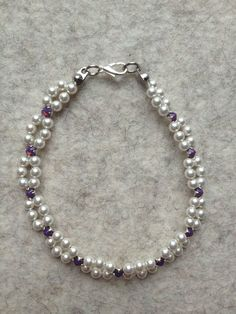 Armband *Duchesse* mit Swarovski Elements  von meiTherese auf DaWanda.com