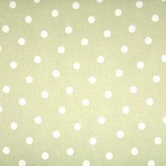 Polka Dot Sage Oilcloth 135cm Wide