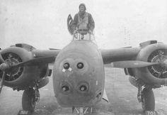 planeshots:    The business end of a Douglas A-20G Havoc