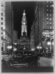Vintage pic of City Hall: Philadelphia
