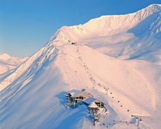 Alyeska Resort gives you and your family access to Alaska's skiing and snowboarding playground.