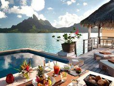 Desayuno en Bora Bora