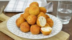 Bolitas de pollo con queso