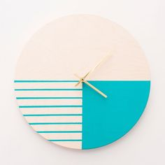 DIY modern wall clock