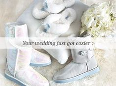 perfect for a winter wedding!!