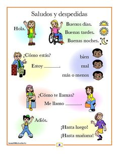 Set of 21 colorful posters printed on heavy 8.5 x 11 card stock that: - introduces the Spanish alphabet and basic vocabulary - includes a free guide with teaching suggestions and practice worksheets f