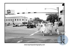A Bride and her wedding party get ready at Hotel Duval and walk to the church for the ceremony
