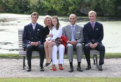 02 September 2012.  Photo session  with the Belgian Royal Family at  Laeken Castle in Brussels