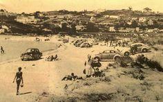 Playa de Santa Cristina,  época 1950-1960