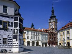 The Town of Mikulov South Moravia Czech Republic