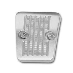 Drake Off Road C6TZ-2454-BL Billet Aluminum Emergency Brake Pedal Cover, Model: C6TZ-2454-BL, Car & Vehicle Accessories / Parts. Machined from Billet Aluminum. Features a clear anodized finish. Has an aggressive tread pattern for a positive grip. Includes stainless steel hardware.