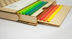 Color Pencil Packaging (Student Project) on Packaging of the World - Creative Package Design Gallery