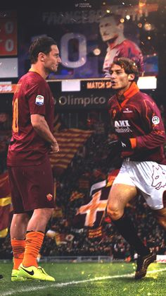 DESIGNDANIEL  Francesco Totti, Roma, Serie A, Calcio, Football, Italia, Italy, Rome.  Beautiful design by DesignDaniel on tumblr.