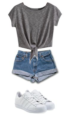"""""""Wednesday"""" by ariel-1017 on Polyvore featuring adidas Originals"""