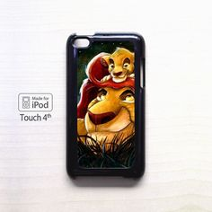 Disney Cartoon Simba for apple case iPod 4/iPod 5