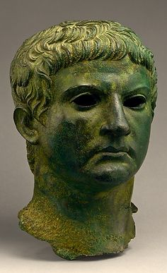 Bronze Head of M. Agrippa Period: Early Imperial, Julio-Claudian, 1st century A.D. Roman