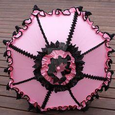 Pink and Black Parasol by dbvictoria on DeviantArt