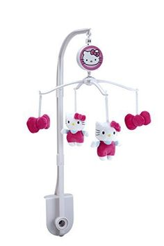 7c38a58af Sanrio Hello Kitty Cute as A Button Musical MobilePinkWhite by Sanrio * Be  sure to check