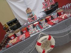 Little Big Company: Buccaneers hold onto our hats, gorgeous Pirate Party by Cakes by Joanne Charmand