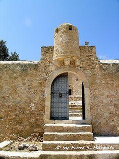 Crete [GR], 2006, Sitia: Kazarma, la fortezza veneziana del XIII sec..