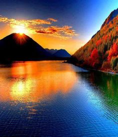 #amazing #nature #photography #reflection #water #fall