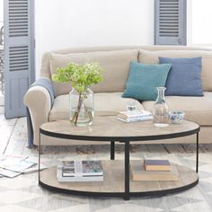 Oval Coffee Table | Sunshine | Loaf