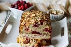 Cranberry and almond flavoring are wonderful together, especially for Thanksgiving and Christmas holidays.