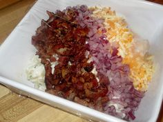 Simply Potatoes Cheddar and Bacon Salad #simplyfied