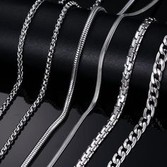 12 Best Silver Necklace For Men Images Mens Silver Necklace Chains For Men Chain