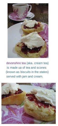 Devonshire tea and scones. I. Love. British Food. ♥