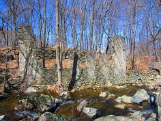 Cranston Foundry and Furnace Hill Brook by Rick Payette