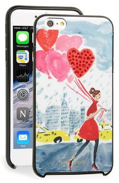 kate spade new york 'balloon girl' iPhone 6 Plus & 6s Plus case available at #Nordstrom