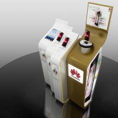 Kiosks And Product Displays by MK Santos at Coroflot.com